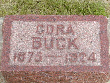 BUCK, CORA - Buchanan County, Iowa | CORA BUCK