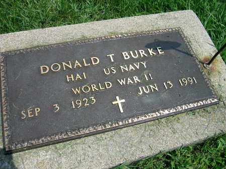 BURKE, DONALD T. - Buchanan County, Iowa | DONALD T. BURKE