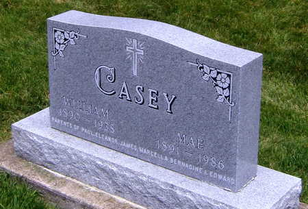 CASEY, WILLIAM - Buchanan County, Iowa | WILLIAM CASEY