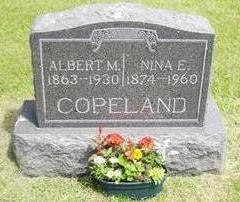 COPELAND, ALBERT - Buchanan County, Iowa | ALBERT COPELAND