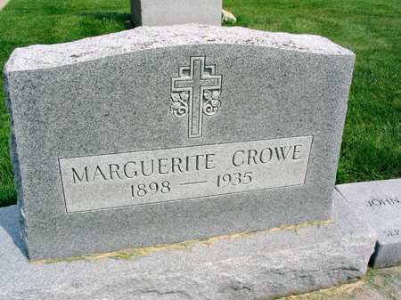 CROWE, MARGUERITE - Buchanan County, Iowa | MARGUERITE CROWE