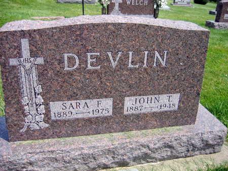 DEVLIN, SARA F. - Buchanan County, Iowa | SARA F. DEVLIN