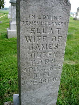 DUFFY, ELLA T. - Buchanan County, Iowa | ELLA T. DUFFY