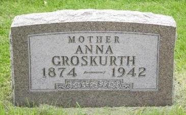 GROSKURTH, ANNA - Buchanan County, Iowa | ANNA GROSKURTH