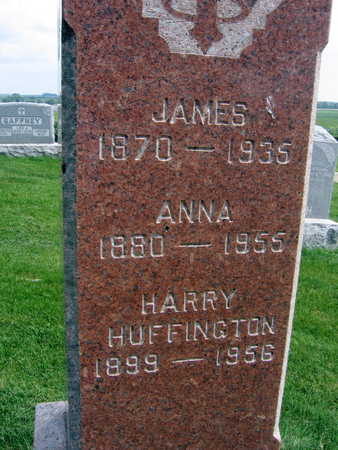 HUFFINGTON, ANNA - Buchanan County, Iowa | ANNA HUFFINGTON