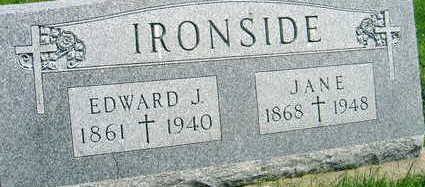 IRONSIDE, JANE - Buchanan County, Iowa | JANE IRONSIDE