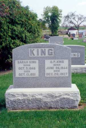 KING, OSCAR - Buchanan County, Iowa | OSCAR KING