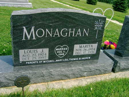 MONAGHAN, MARITA - Buchanan County, Iowa | MARITA MONAGHAN