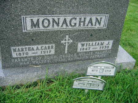 CARR MONAGHAN, MARTHA A. - Buchanan County, Iowa | MARTHA A. CARR MONAGHAN