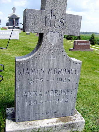 MORONEY, ANNA - Buchanan County, Iowa | ANNA MORONEY