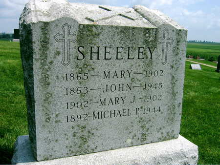 SHEELEY, MARY - Buchanan County, Iowa | MARY SHEELEY