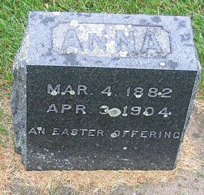 STRONG, ANNA - Buchanan County, Iowa | ANNA STRONG