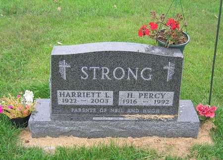 THORLAKSON STRONG, HARRIETT LOUISE - Buchanan County, Iowa | HARRIETT LOUISE THORLAKSON STRONG