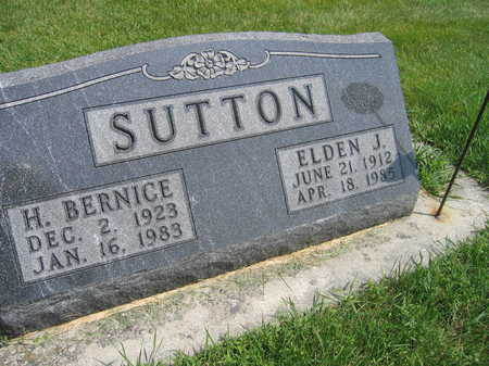 SUTTON, ELDEN J. - Buchanan County, Iowa | ELDEN J. SUTTON