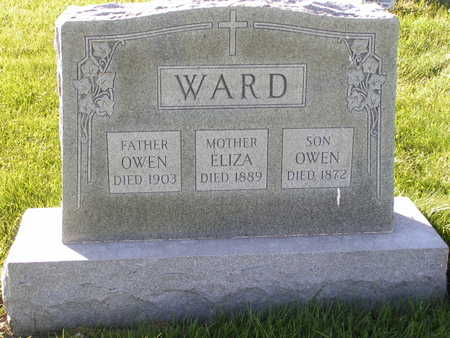 WARD, ELIZA - Buchanan County, Iowa | ELIZA WARD