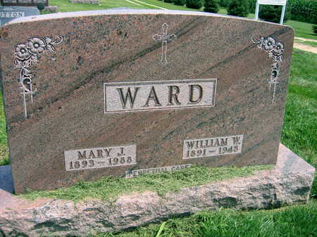 WARD, MARY J. - Buchanan County, Iowa | MARY J. WARD