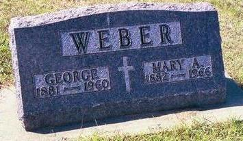 WEBER, GEORGE - Buchanan County, Iowa | GEORGE WEBER