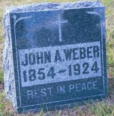 WEBER, JOHN A - Buchanan County, Iowa | JOHN A WEBER