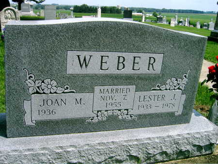 WEBER, JOAN M. - Buchanan County, Iowa | JOAN M. WEBER