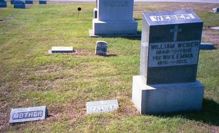WEBER WEBER, EMMA - Buchanan County, Iowa | EMMA WEBER WEBER