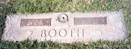 MILLER BOOTH, GLADYS B. - Buena Vista County, Iowa | GLADYS B. MILLER BOOTH