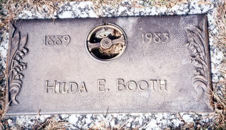 BOOTH, HILDA E - Buena Vista County, Iowa | HILDA E BOOTH