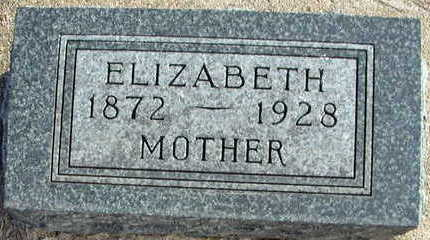 MARKERT IBE, ELIZABETH - Buena Vista County, Iowa | ELIZABETH MARKERT IBE