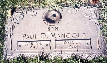MANGOLD, PAUL D - Buena Vista County, Iowa | PAUL D MANGOLD