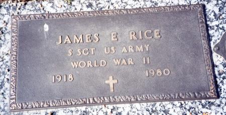 RICE, JAMES E - Buena Vista County, Iowa | JAMES E RICE