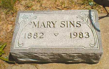 SPINDLER SINS, MARY MATILDA - Buena Vista County, Iowa | MARY MATILDA SPINDLER SINS