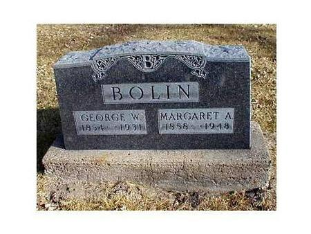 BOLIN, GEORGE W., MARGARET A. - Butler County, Iowa | GEORGE W., MARGARET A. BOLIN