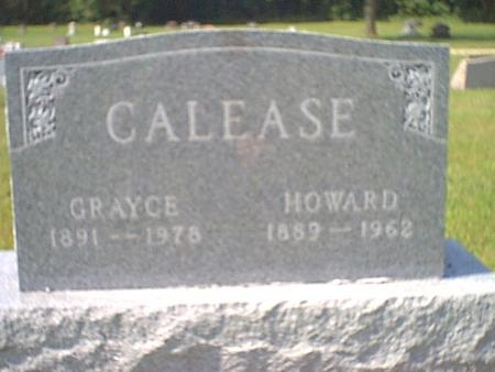 CALEASE, HOWARD - Butler County, Iowa | HOWARD CALEASE