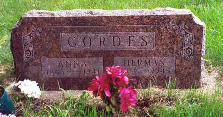 CORDES, HERMAN - Butler County, Iowa | HERMAN CORDES