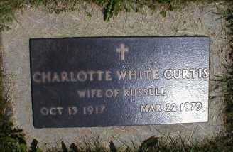 CURTIS, CHARLOTTE - Butler County, Iowa   CHARLOTTE CURTIS