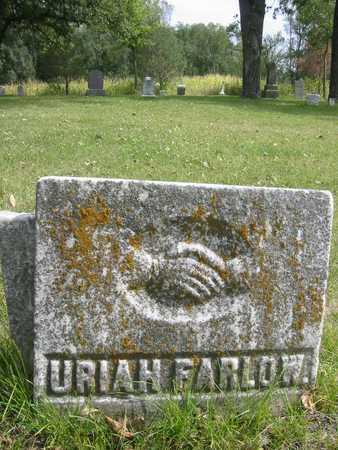 FARLOW, URIAH - Butler County, Iowa | URIAH FARLOW