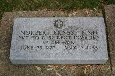 FINN, NORBERT ERNEST - Butler County, Iowa | NORBERT ERNEST FINN