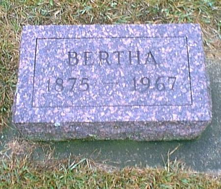 GRAPP, BERTHA - Butler County, Iowa | BERTHA GRAPP