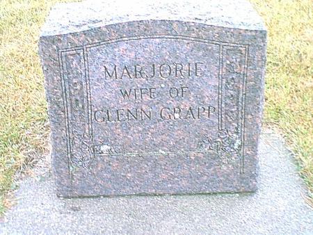 GRAPP, MARJORIE - Butler County, Iowa | MARJORIE GRAPP