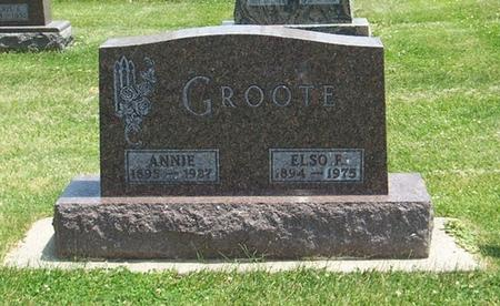GROOTE, ELSO FRED - Butler County, Iowa | ELSO FRED GROOTE