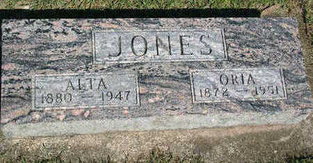 JONES, ORIA C. - Butler County, Iowa | ORIA C. JONES