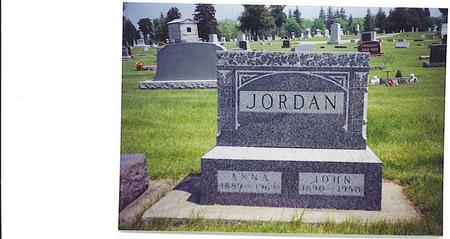 JORDAN, JOHN MILO - Butler County, Iowa | JOHN MILO JORDAN