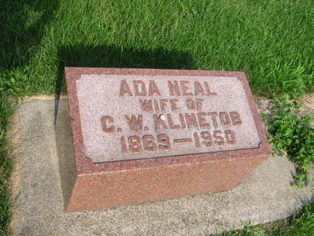 NEAL KLINETOB, ADA - Butler County, Iowa | ADA NEAL KLINETOB