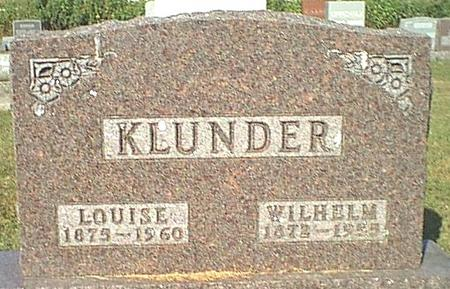 KLUNDER, LOUISE - Butler County, Iowa | LOUISE KLUNDER