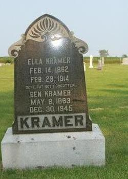 KRAMER, ELLA - Butler County, Iowa | ELLA KRAMER