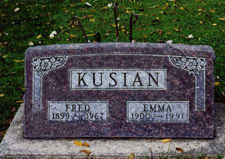 KUSIAN, FRED ANDREW - Butler County, Iowa | FRED ANDREW KUSIAN