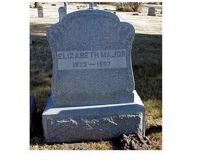 MAJOR, ELIZABETH, WILLIAM - Butler County, Iowa   ELIZABETH, WILLIAM MAJOR