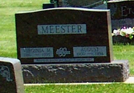 MEESTER, VIRGINIA M. - Butler County, Iowa | VIRGINIA M. MEESTER