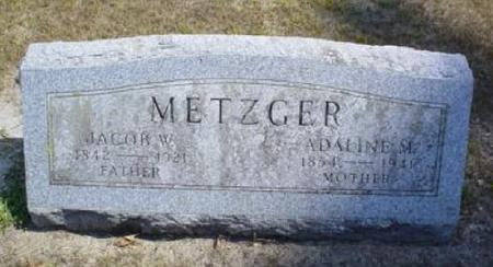 METZGER, JACOB W. - Butler County, Iowa | JACOB W. METZGER