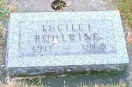 ROHLWING, LUCILLE - Butler County, Iowa | LUCILLE ROHLWING