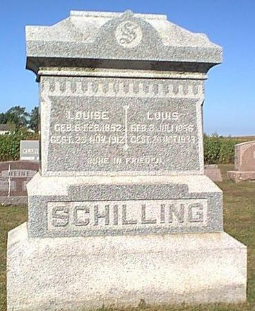 SCHILLING, LOUISE - Butler County, Iowa | LOUISE SCHILLING
